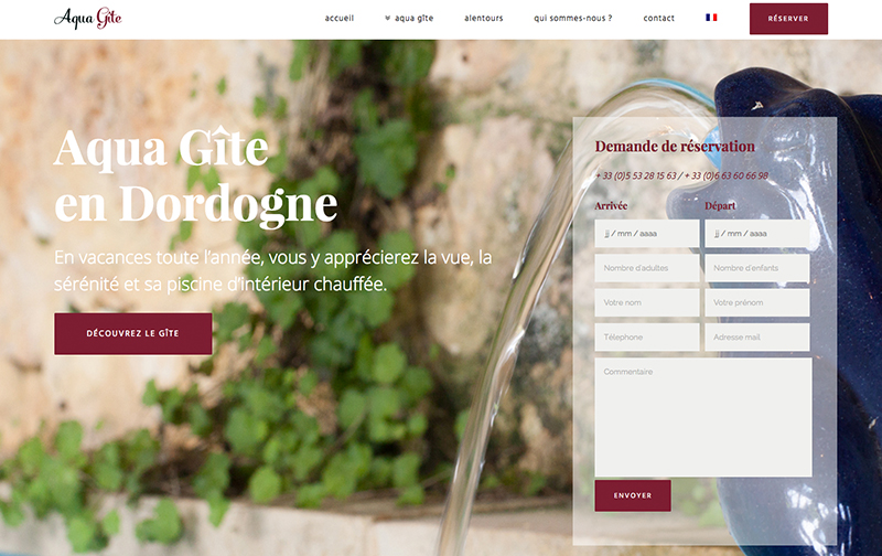 Creation site internet Lot Dordogne